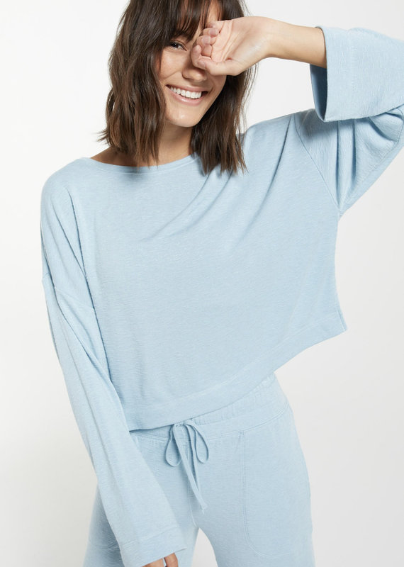 Z Supply Simone Terry Slub Top