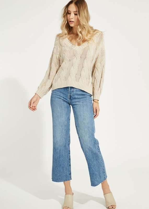 Gentle Fawn Heritage Pullover, Cashew