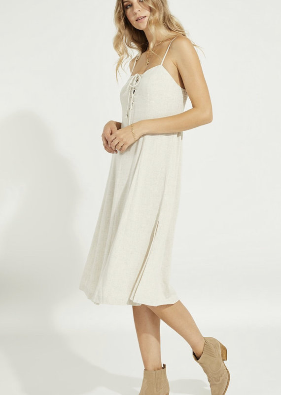 Gentle Fawn Wesley Dress, Linen White
