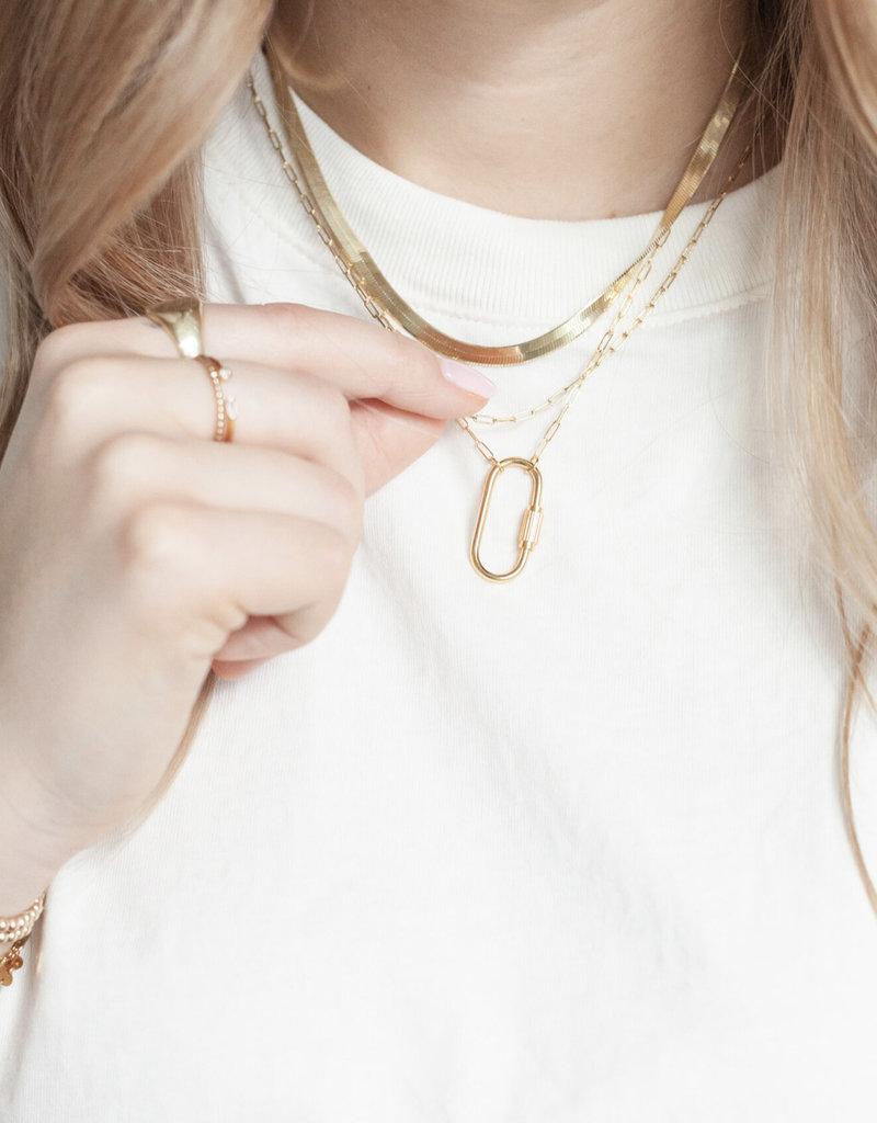 lavender & grace Hart Necklace