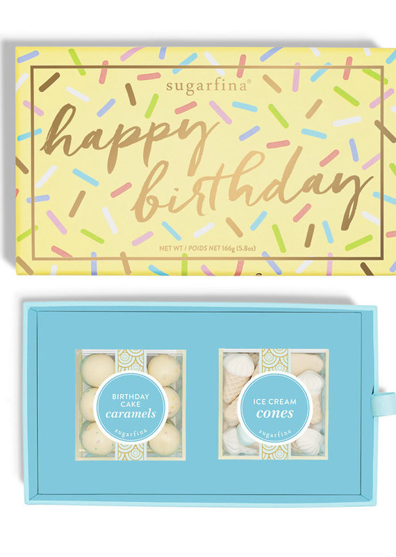Sugarfina Happy Birthday 2pc Bento Box