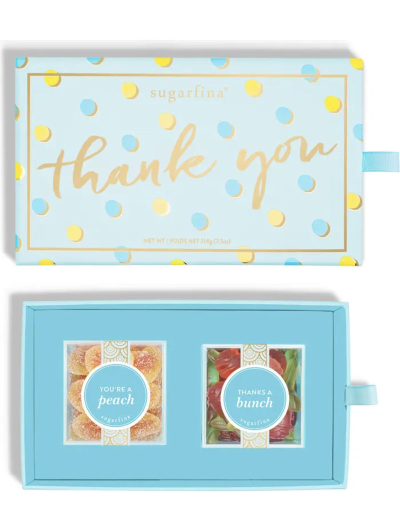Sugarfina Thank you 2pc Bento Box