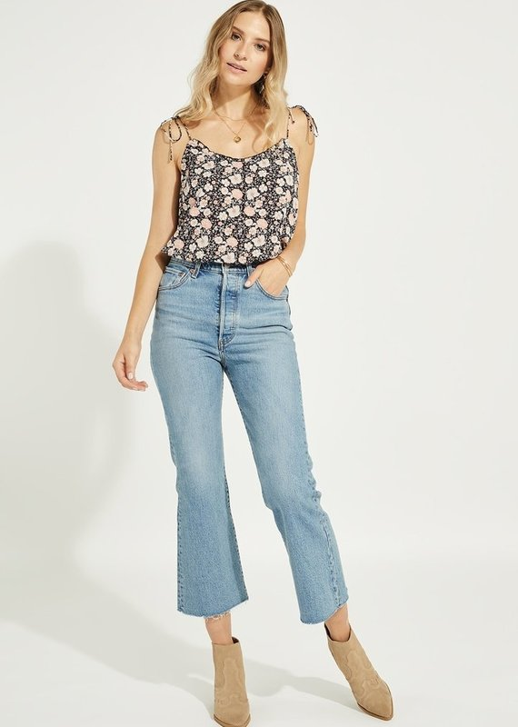 Gentle Fawn Aster Tank, Navy Floral