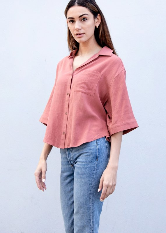 Gentle Fawn Cole Top, Red Clay