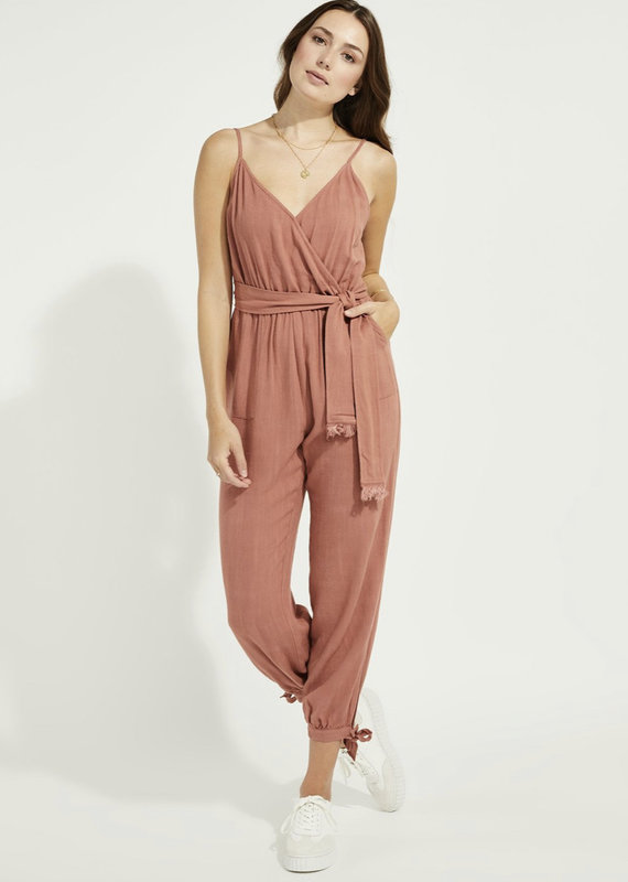 Gentle Fawn Mackenzie Jumpsuit, Red Clay