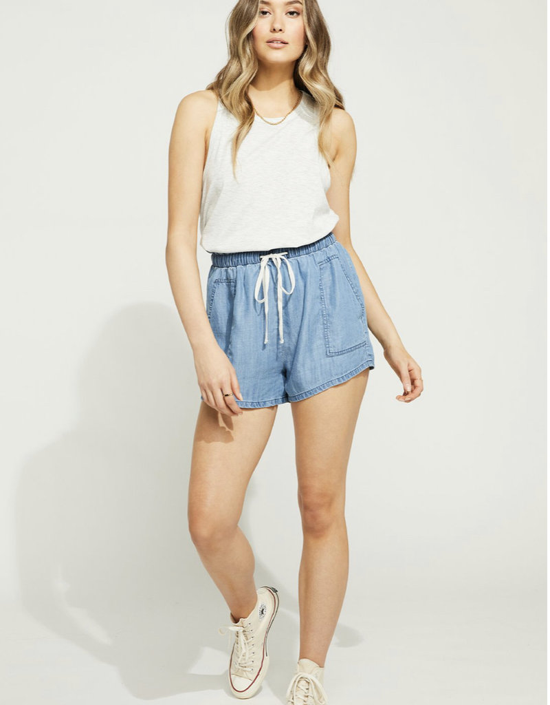 Gentle Fawn Berekely Short, Chambray