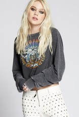 Recycled Karma Aerosmith 1979 Tour Cropped Sweatshirt
