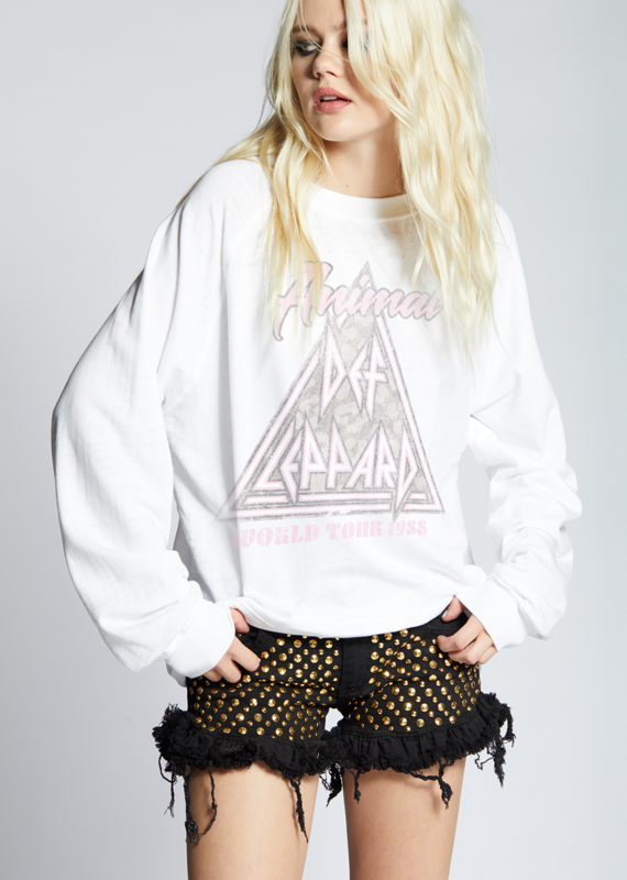 Recycled Karma Animal Def Leppard Sweatshirt