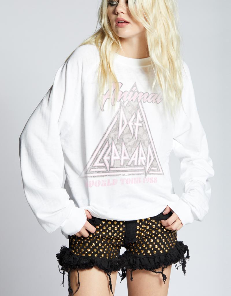 Recycled Karma Animal Def Leppard Sweatshirt
