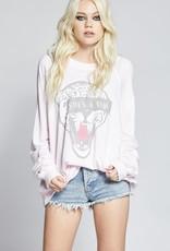 Recycled Karma Vibe Sweatshirt, Crystal Pink