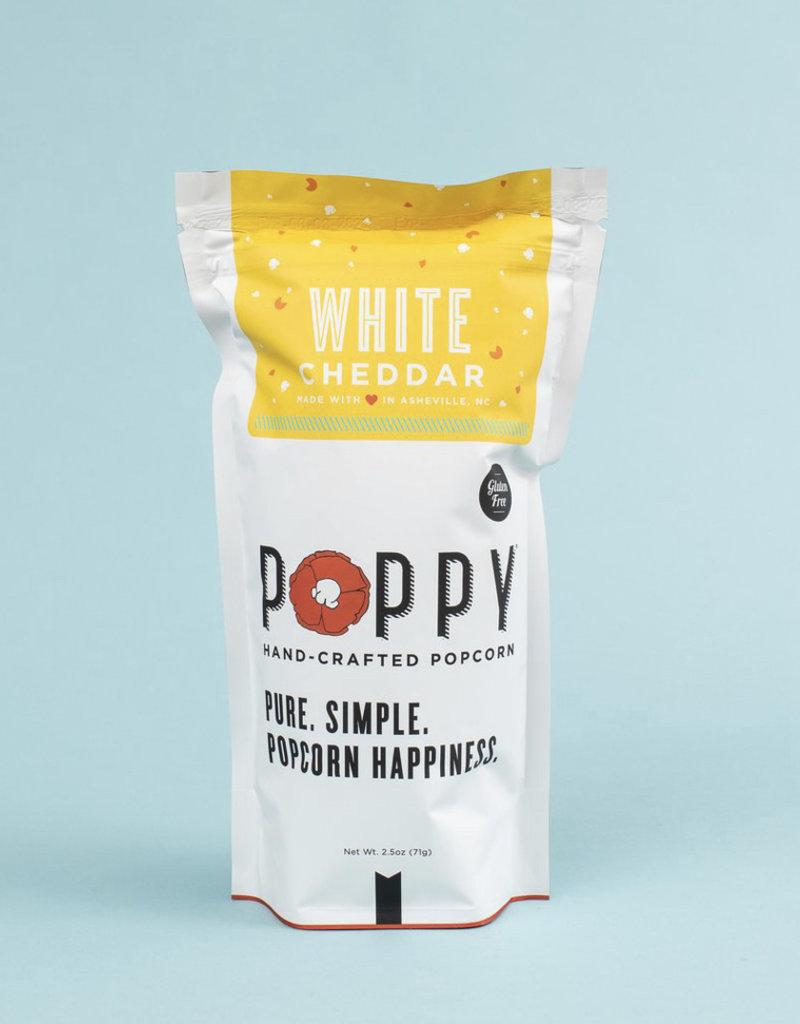 Poppy Handcrafted Popcorn White Cheddar Market Bag