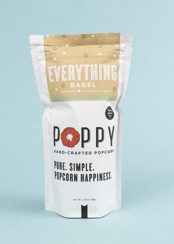Poppy Handcrafted Popcorn Everything Bagel Market Bag (Vegan)