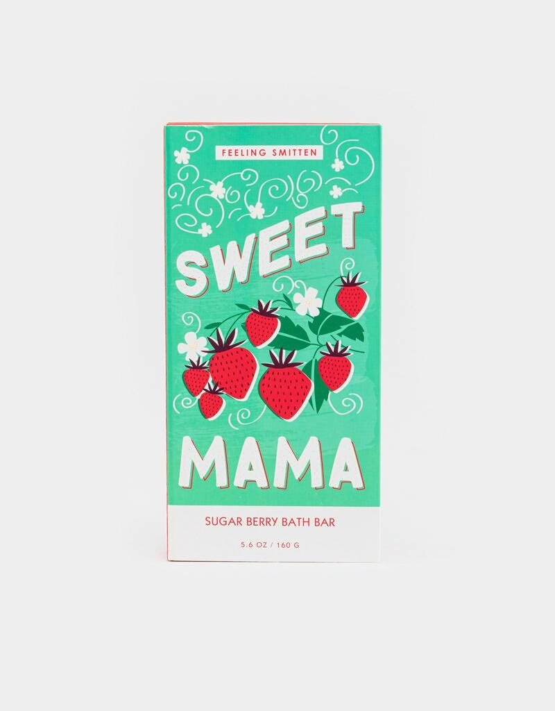 Feeling Smitten Sweet Mama Rainbow Bath Bar