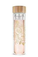 Pinky Up Blair Bouquet Glass Travel Infuser Mug