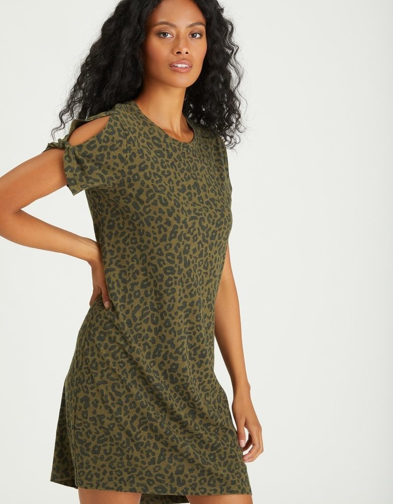 Sanctuary So Twisted T-Shirt Dress, Camo Leo