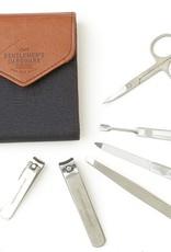 Gentleman's Hardware Charcoal Manicure Set No74, 6pc