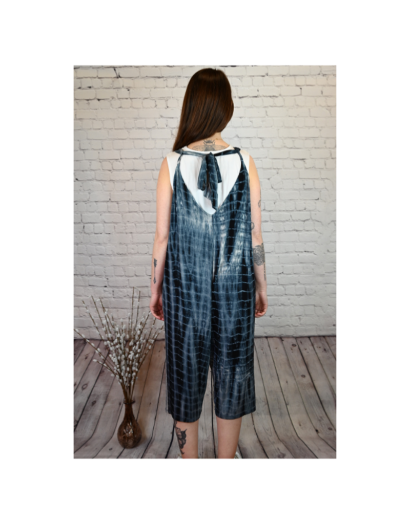 Saba & Co Jump Suit with Tie, Tie Dye