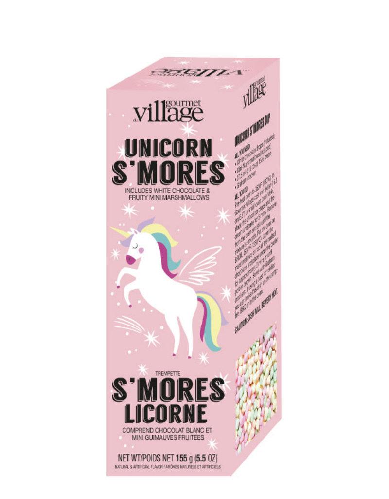 GOURMET VILLAGE Unicorn Smores Dip