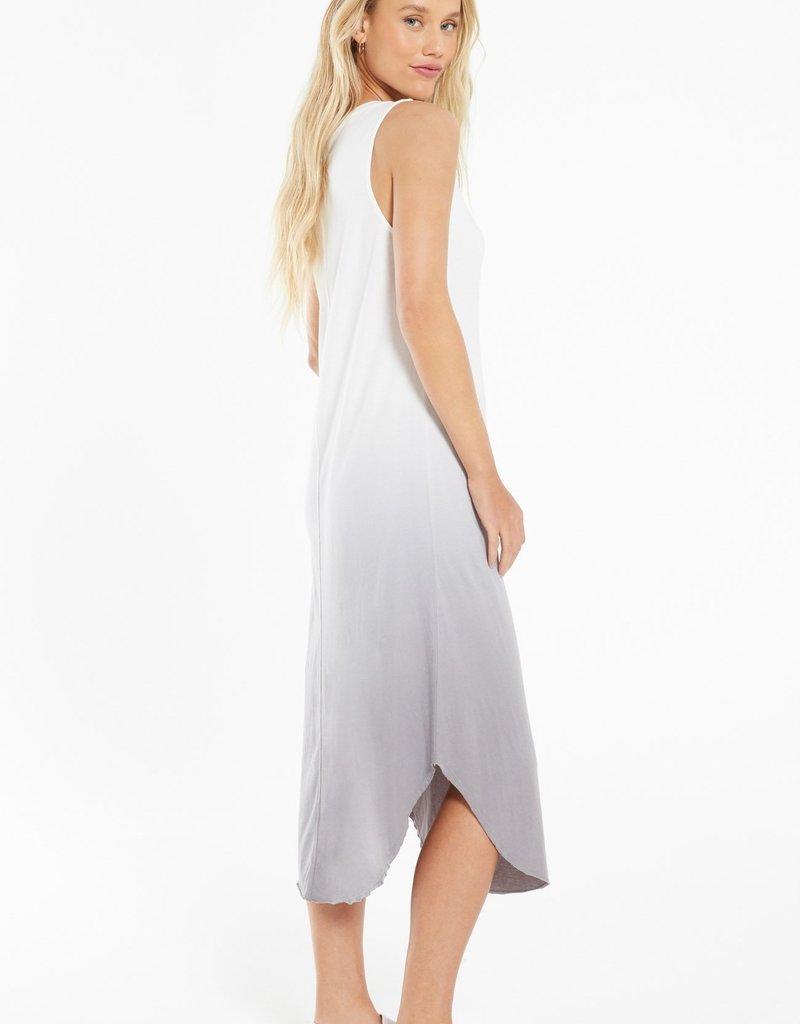 Zsupply Reverie Scoop Dip Dye Dress