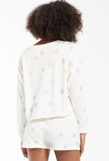 Zsupply Lia Rainbow Star Sweatshirt