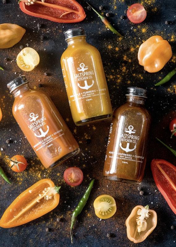 Salt Spring Kitchens Hot Sauce Collection