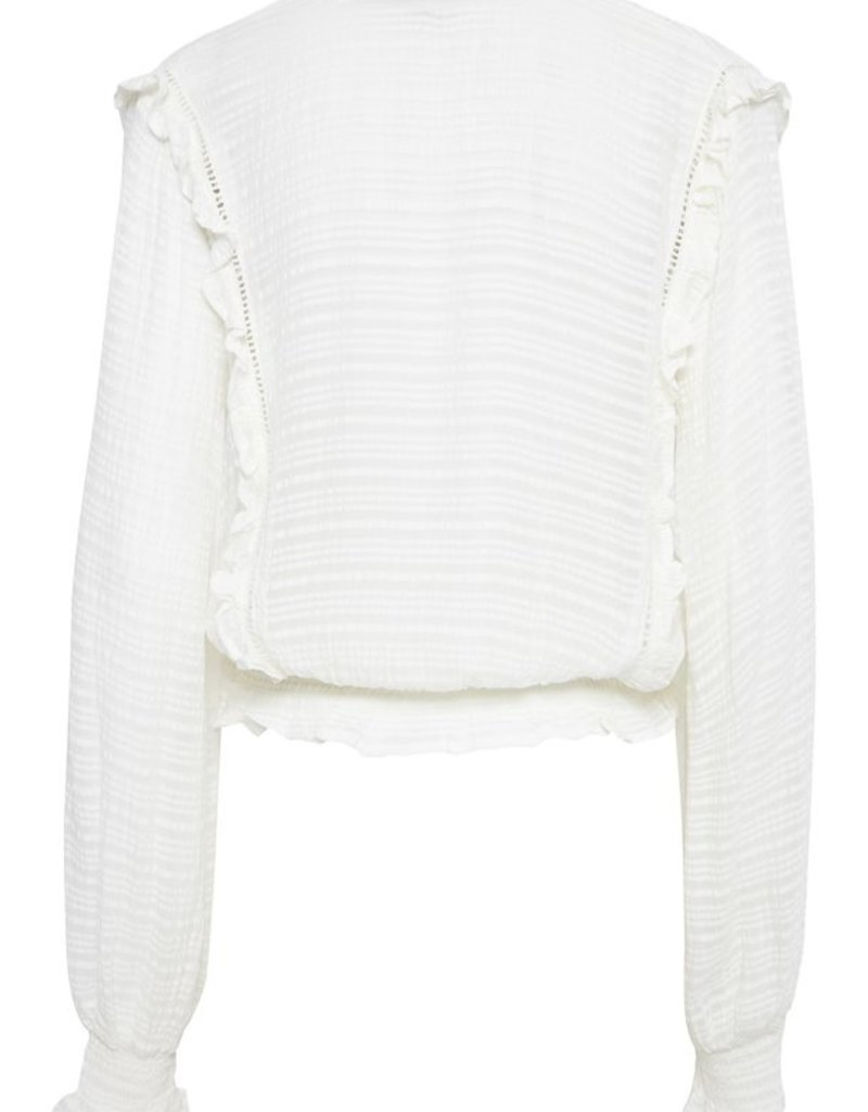 B.Young Felicia Blouse, Off White