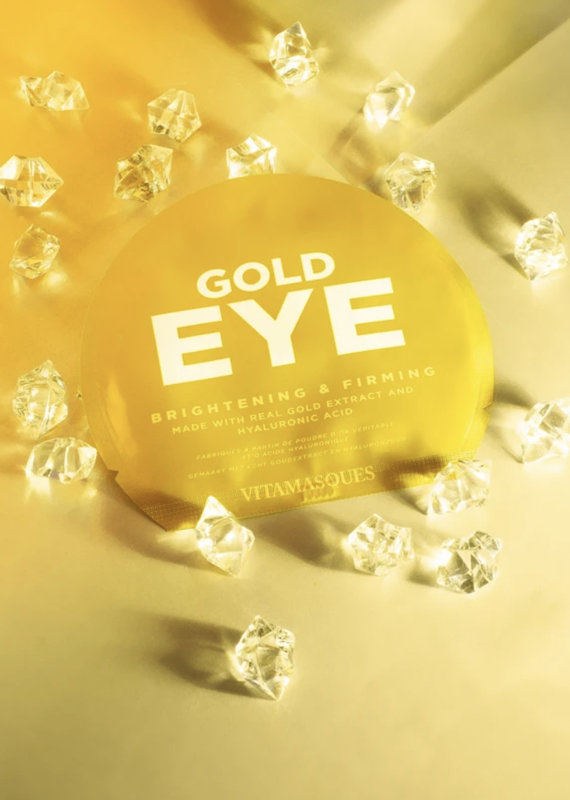 Vitamasques Gold Eye Pads