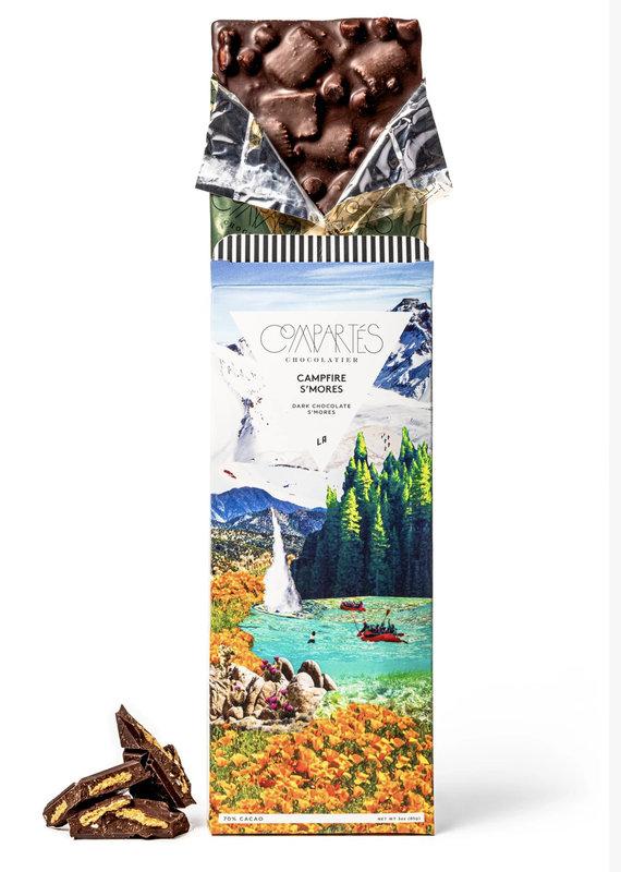 Compartes Chocolates Campfire S'Mores Chocolate Bar