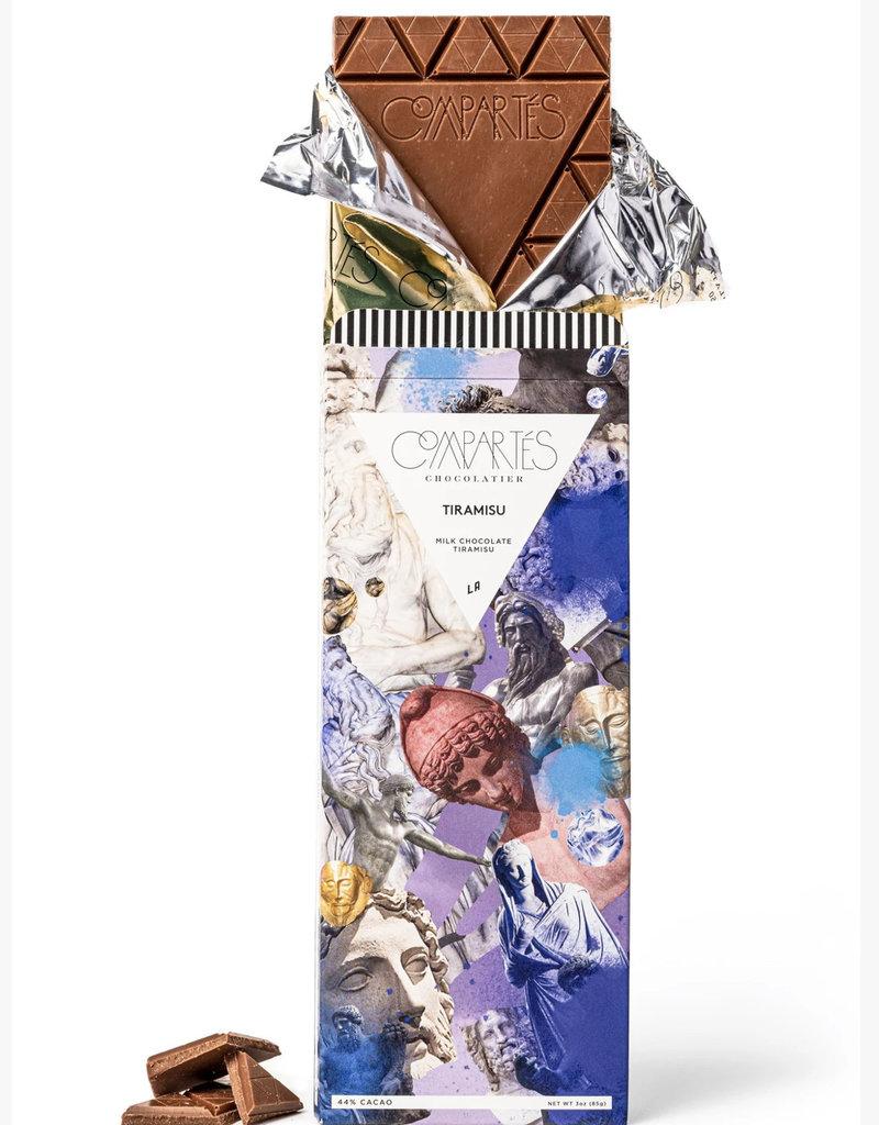 Compartes Chocolates Tiramisu Chocolate Bar
