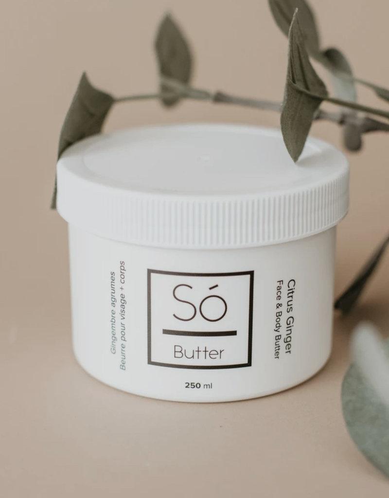 So Luxury Sweet Butter - Citrus Ginger