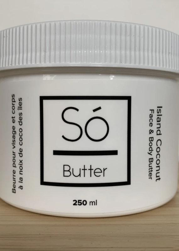 So Luxury Sweet Butter - Island Coconut