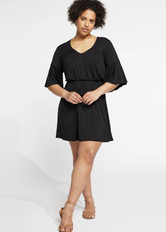 Gentle Fawn Marianne Dress, Black