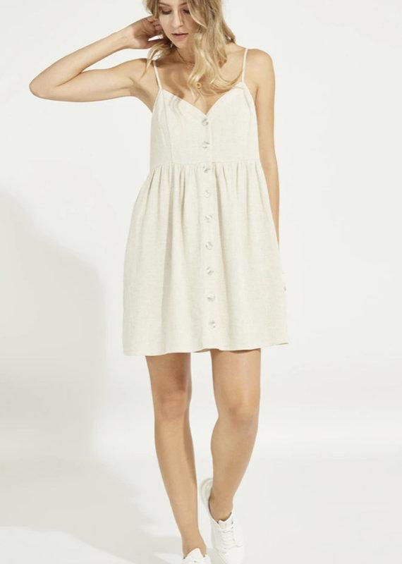 Gentle Fawn Palm Dress, Linen