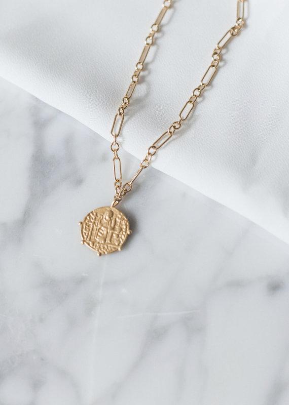 lavender & grace Honey Necklace