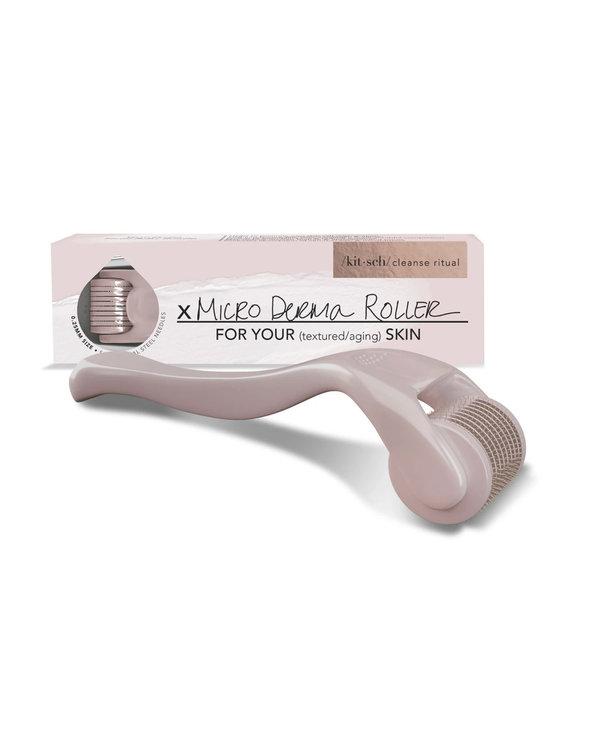 Micro Derma Facial Roller, Pink