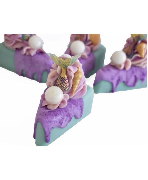 Mermaid Kisses Artisan Soap Cake