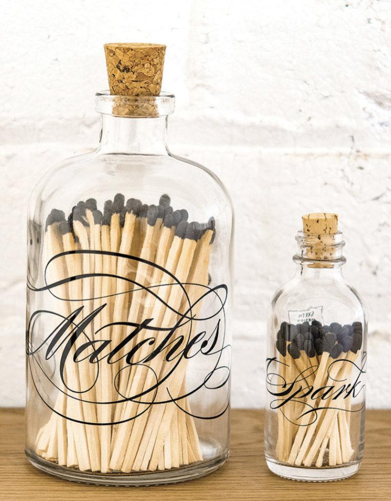 Skeem Design Apothecary Calligraphy Match Bottle, Mini