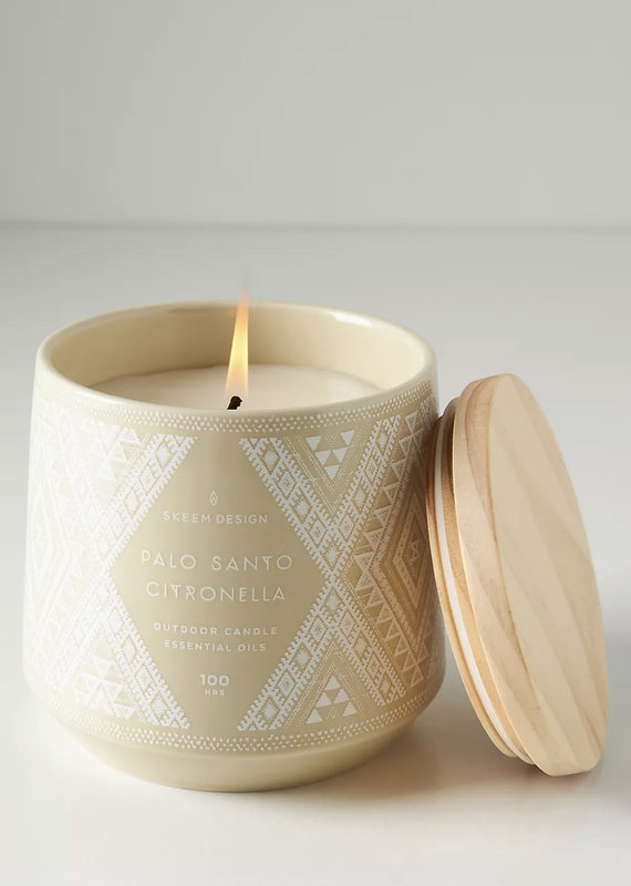 Skeem Design Palo Santo + Citronella Candle, 100hr
