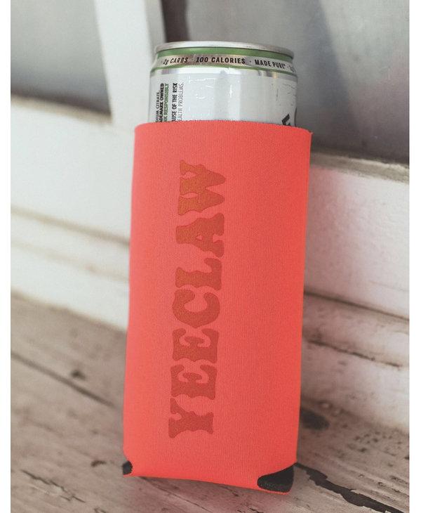 Yeeclaw Pink/Orange Slim Drink Sleeve