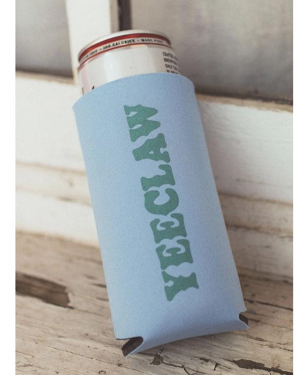 Yeeclaw Blue/Green Slim Drink Sleeve