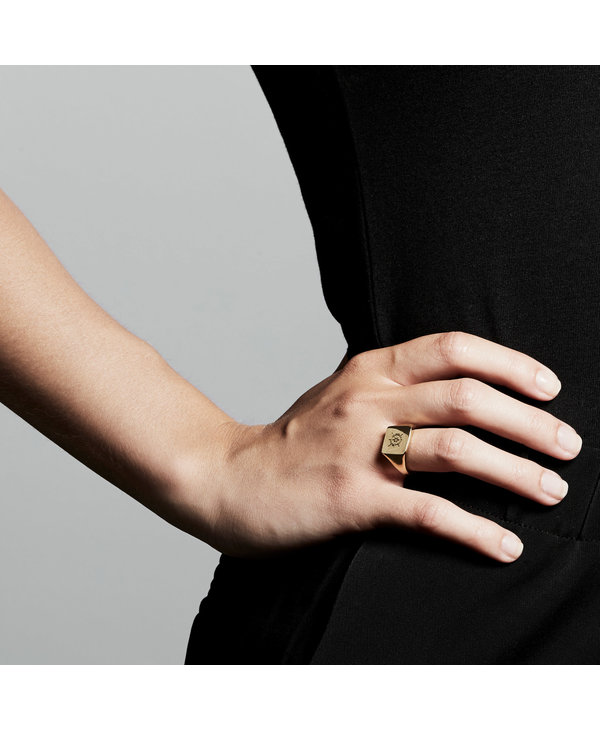 Cressida Ring, Gold Plated