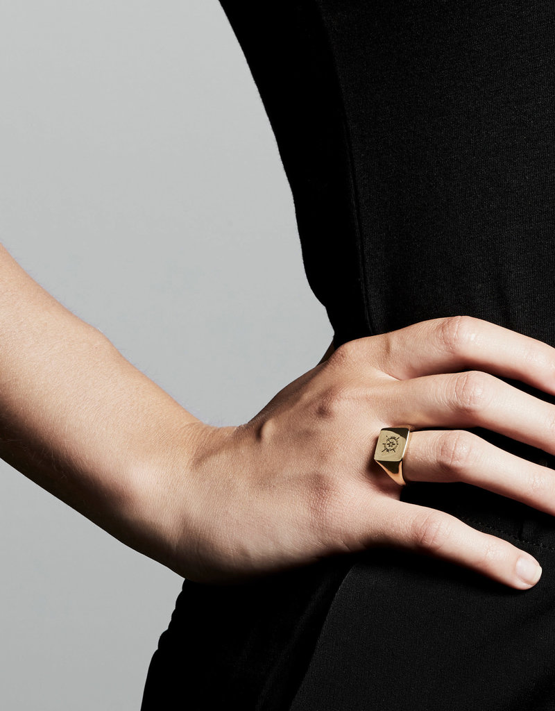 Pilgrim Cressida Ring, Gold Plated