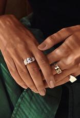 Pilgrim Maren Ring, Gold Plated