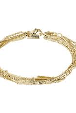 Pilgrim Katherine Layered Bracelet, Gold Plated