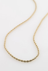 Pilgrim Pam Necklace, Gold Plated