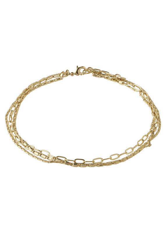 Pilgrim Thalia Ankle Chain, Gold Plated
