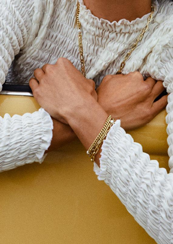 Pilgrim Enchantment Bracelet, Gold Plated