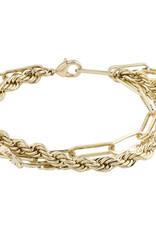 Pilgrim Simplicity Bracelet, Gold Plated