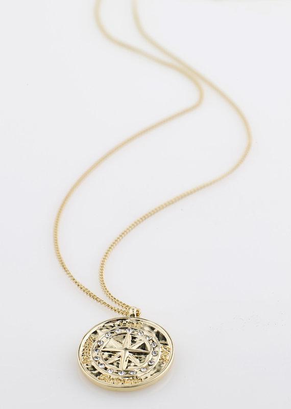 Pilgrim Gerda Necklace, Gold Plated