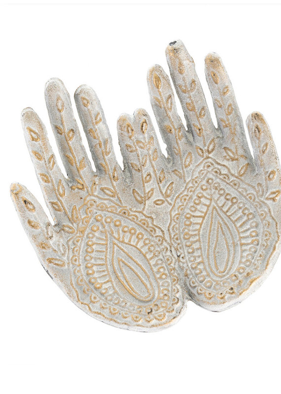 Indaba Trading Co. Henna Hands Catch All Dish